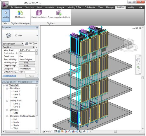 Bim 3d software – Security sistems