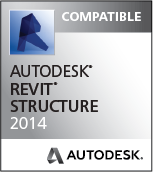 Compatible wit Revit Structure 2014