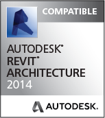 Compatible wit Revit Architecture 2014